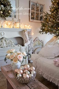 A Shabby Chic Christmas from Shabyfufu