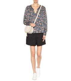 Isabel Marant - Ryton floral-printed silk blouse   mytheresa.com