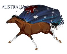 Horse Hetalia: Australia by MUSONART