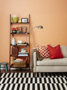 5 Ways to Use a Ladder Shelf : Decorating : Home & Garden Television