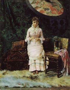 Gunnar Berndtson (1854 – 1895 ) – Pintor Finlandês _13