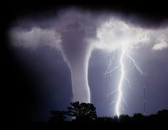 Tornado lightning bolt
