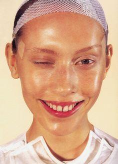 lavandula:  colette pechekhonova, by richard burbridge, i-d magazine april 1999