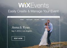 Easily manage and share your events online. RSVP function