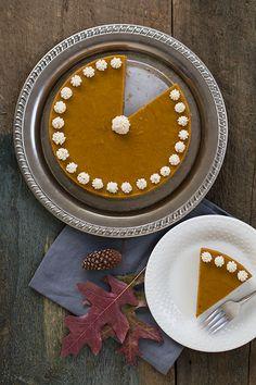 Autoimmune-Friendly Pumpkin Spice Cake w/ Gingersnap Crust