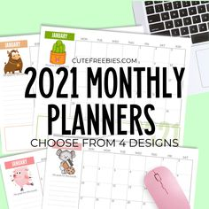 Free 2021 Monthly Goals Calendar Printable! - Printables and Inspirations Goal Calendar, Kids Calendar, 2021 Calendar, Print Calendar, Calendar Ideas, Monthly Planner Template, Printable Calendar Template, Printable Planner, Printables