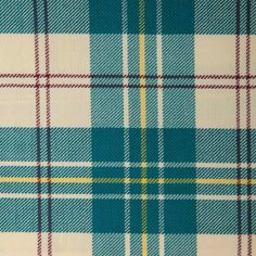 MACPHERSON (Dress Blue) GL035 100% Wool 10.5oz Tartan. Woven in Yorkshire by Marton Mills. Wool Fabric, Design Show, Yorkshire, Tartan, Blue Dresses, Swatch, Weaving, Pure Products, Quilts