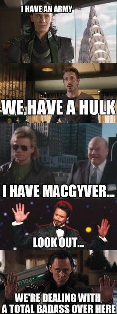 Loki Vs. Avengers Vs. MacGyver