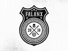 Falanx Soccer Badge (v2) by Made By Thomas