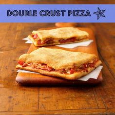 Double crust pizza