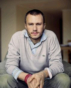Heath Ledger...goodnight, wish you were still here on Earth with us :(