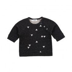 Sweatshirt spitz   Schwarz  Blune Kids