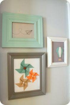 crafts home decor: wall art, light & airy | make handmade, crochet, craft