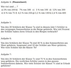 11 best prozentrechnung und zinsrechnung images on Pinterest ...