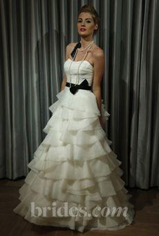 Brides: Alyne - Fall 2013   Bridal Runway Shows   Wedding Dresses and Style   Brides.com
