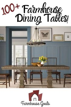 Discover the top-rated farm home dining table sets and rustic dining tables. When you are looking for farmhouse dining room furniture, you will find it here. Farmhouse Bedroom Furniture Sets, Farmhouse Dining Room Table, Dining Tables, Dining Room Furniture, Kitchen Colors, Top Rated, Goals, Rustic, House Styles