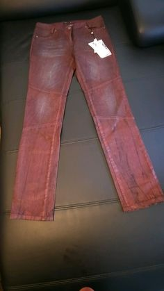 Jean couleur Rubis - Taille 38