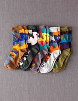 5 Pack Socks (Multi Camo)