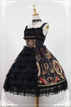Neverland Lolita -Night at the Magic Museum- Open Front Lolita JSK