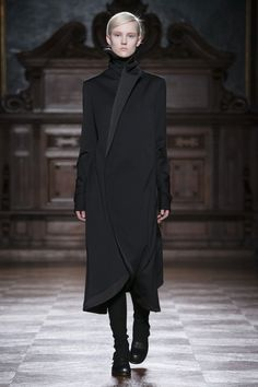 Visibly Interesting: Aganovich Tuxedo Coat Asymmentrical