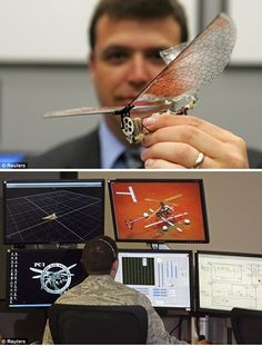 U.S. Military Insect Drones (powered by LabVIEW)