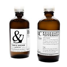 Town & Anchor - Organic Herbal Body Cleanser (Rosemary Peppermint) 8oz