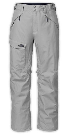 The North Face Men s Insulated Ski Pants are fully-featured e5b48a0cb