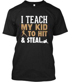 Hit and Steal Baseball | Teespring