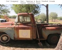 Love old pick-up trucks