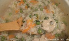 Chicken Pilaf by Transylvanian Kitchen Risotto, Rice, Chicken, Ethnic Recipes, Kitchen, Food, Cooking, Kitchens, Essen