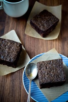blissful eats with tina jeffers: Chocolate chip zucchini brownies