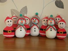 Your Makes: Christine Young's Santa and snowman collection
