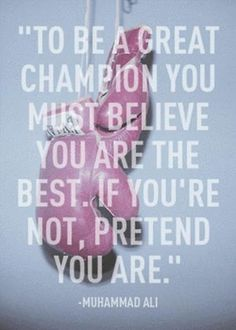 Champion mentality