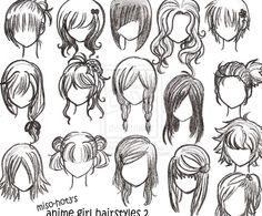 Easy cute hair types -girl- ( my favorite 2/2 )