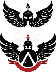 Sparta Coat of arms is part of Christian tattoos Forearm Words - Sparta Coat of arms Tattoo Drawings, Body Art Tattoos, Tribal Tattoos, Tatoos, Spartan Logo, Spartan Helmet, Spartan Warrior, Sparta Tattoo, Animal Body Parts