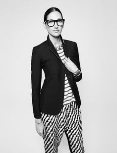 Jenna lyons at DKNY Women's Fall 2016 show on February 2016 ile ilgili görsel sonucu Jenna Lyons, Mode Simple, Androgynous Fashion, Girly, Vogue, Inspiration Mode, Look Fashion, Modern Fashion, Winter Fashion