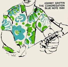 Johnny Griffin, The Congregation, Blue Note Album Cover