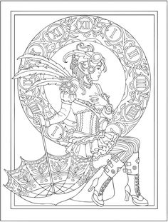 Welcome to Dover Publications - CH Steampunk Fashions