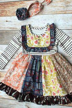 Cinnamon Swirl Dress