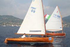 Un Finn et un Dinghy de 12' en Italie
