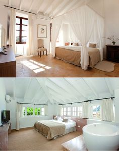 Hotel Can Simoneta | Boutique Hotel | Spain | http://lifestylehotels.net/en/can-simoneta | rooms, luxury, white