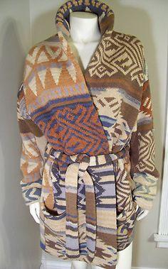 Beautiful Ralph Lauren Southwest sweater jacket!