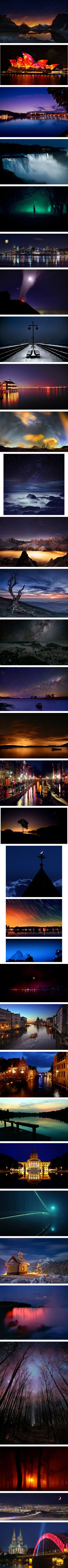 Night #Photography....night time photography is so impressive!