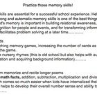 As part of a professional goal, Speech Language Pathologists may want to add articles to the school newsletter. This article on Practicing Memory . Speech Language Pathology, Speech And Language, Executive Functioning, Classroom Activities, Caregiver, Speech Therapy, Goal, Goodies, Articles