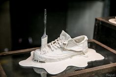 maison martin margiela x converse international release of the hand painted shoe september 20th for chuck taylor and jack purcell