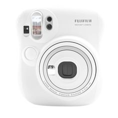 White Instax mini 25s by Fujifilm. The Lighten-Darken Control adjusts the intensity of colors to make the print finish brighter or darker. Camera control and detect a background color to control the shutter speed. Close-up lens for shots up to 35 cm from the subject. http://www.zocko.com/z/JFRRd