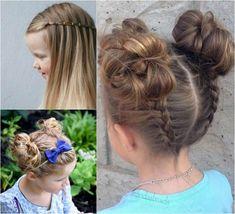 coiffure fillette idées mignonnes pour école