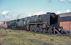Live Steam Locomotive, Diesel Locomotive, Southern Trains, Southern Railways, Abandoned Train, Merchant Navy, Bullen, Steam Engine, North Yorkshire