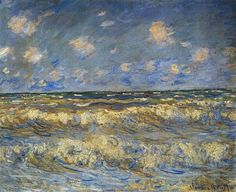 Rough Sea 1881 | Claude Monet