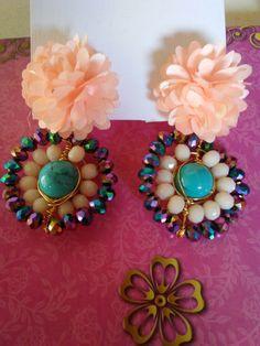 Earrings Handmade, Handmade Jewelry, Jhumki Earrings, Jewelry Trends, Jewelry Gifts, Jewerly, Handmade Items, Choker, Etsy